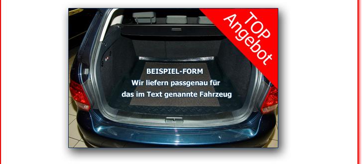 3D Gummimatten Kofferraumwanne SET Mitsubishi Outlander II XL Box Bj.2006-2012